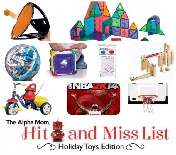 Alpha Mom's Toy Hit & Miss List for 2013
