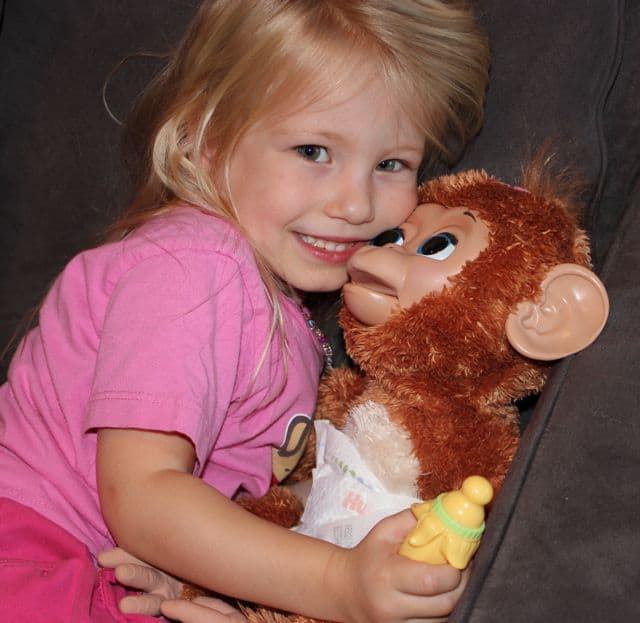 Friends Cuddles My Giggly Monkey Pet Review