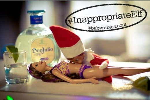inappropriate elf