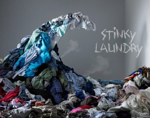 On Forgotten, Funky-Smelling Laundry