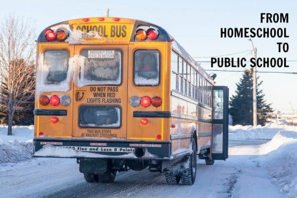 Bye-bye, Homeschooling: Heading Back To Public School