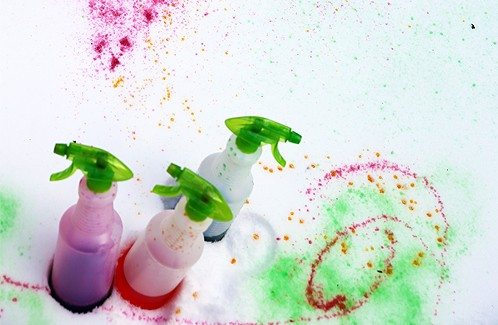 How to Make Snow Paint by Cindy Hopper for @Alphamom