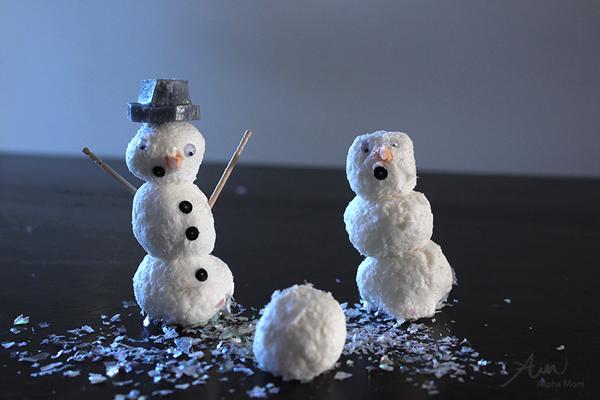 DIY Snowman Soap!