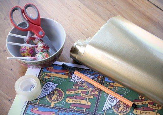 """Harry Potter """"Golden Snitch"""" Valentine supplies"""