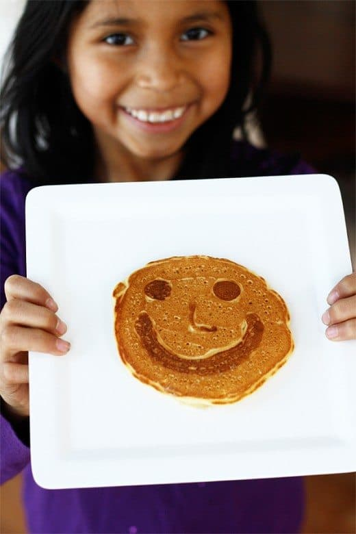 Pancake Art For National Pancake Day And Shrove Tuesday