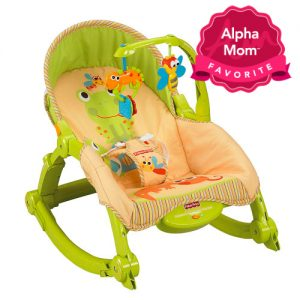 Best Bouncy Seats & Rockers: Newborn-to-Toddler Portable Rocker by Fisher Price