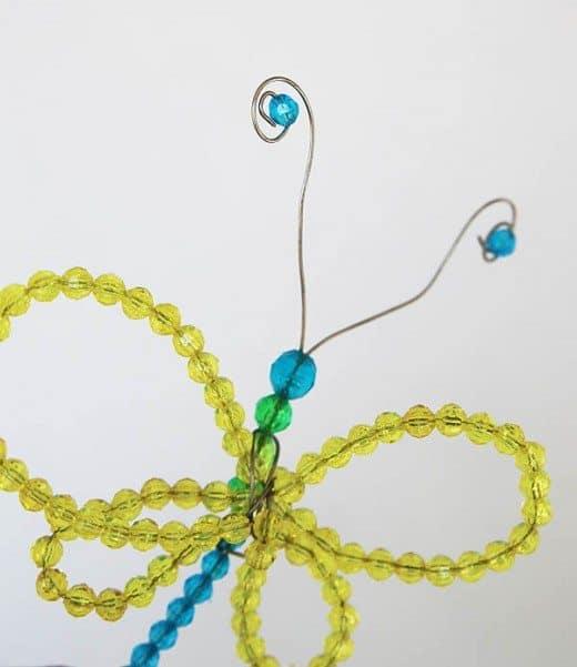 Beaded Butterflies craft by Cindy Hopper for Alphamom.com