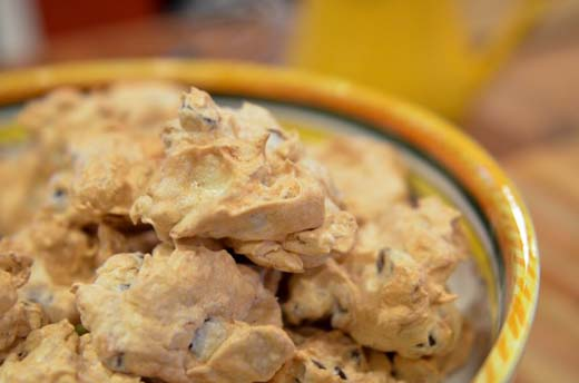 Chocolate Chip Meringues Recipe by The Cookery Maven