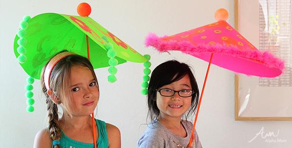Giant Paper Parasols for Spring