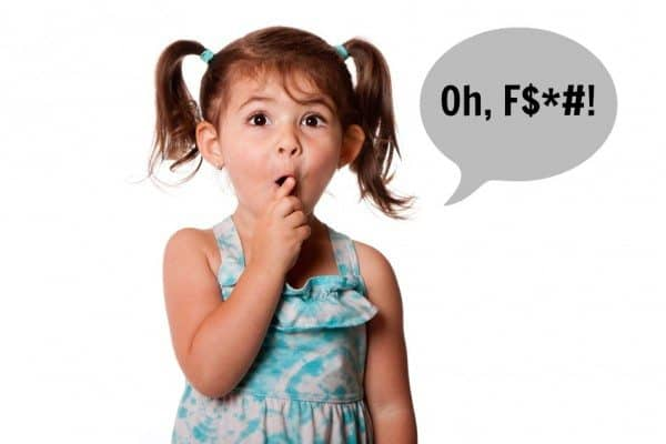 On Toddlers & Four-Letter Words