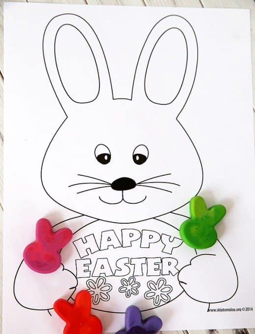 Easter Coloring Page by skiptomylou.org
