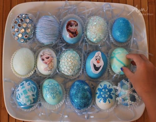 10 Frozen Movie Themed Easter Egg Decorating Ideas Alpha Mom