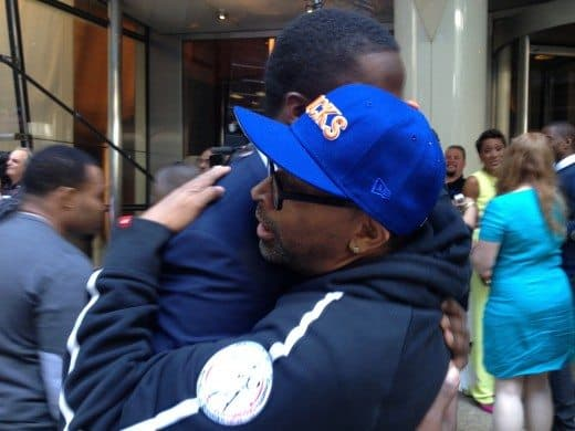 Spike Lee and Teddy Bridgewater Pink Cadillac Gift for Mom
