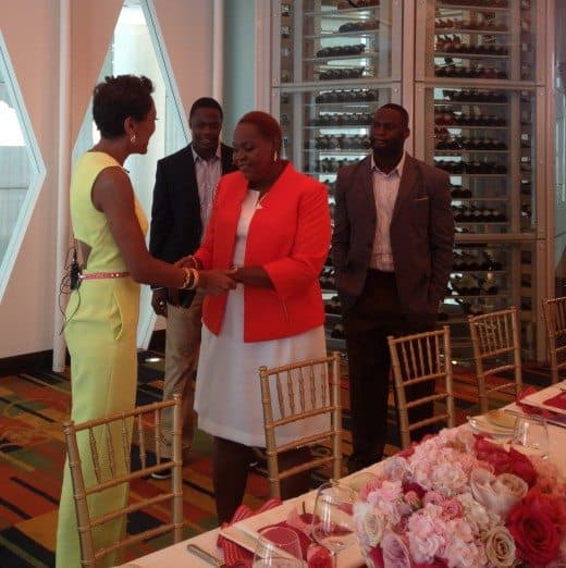 Teddy Bridgewater Pink Cadillac Escalade Birthday Party with Robin Roberts