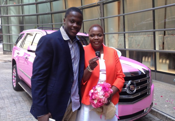 Dreams Do Come True: Teddy Bridgewater Gifts His Mom Her Dream Cadillac