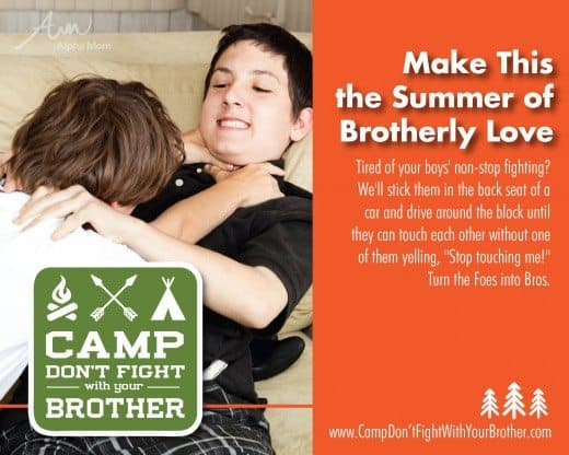 The Don't Fight With Your Brother Camp