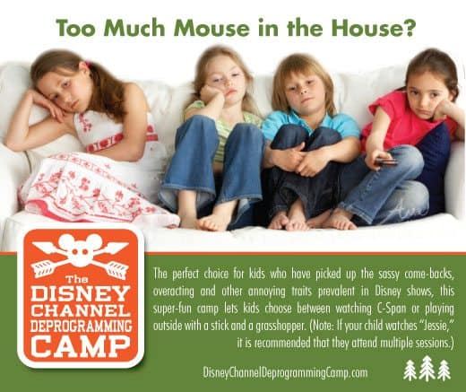 The Disney Channel Deprogramming Camp