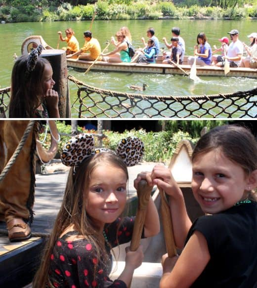 Things-To-Do-Disneyland-canoes