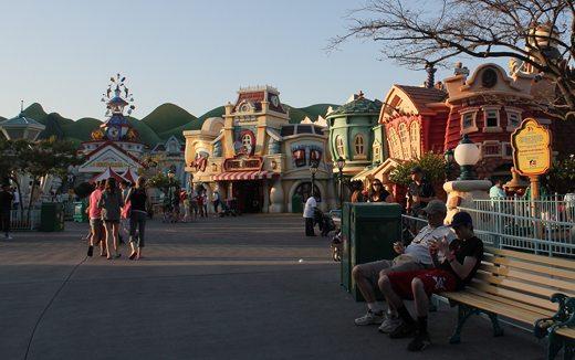 Disneyland's ToonTown