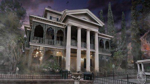 Haunted Mansion at Disneyland