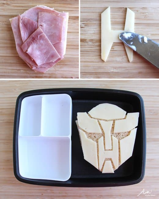 Transformers Bento Box Lunch by Wendy Copley for Alphamom.com