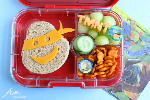 Teenage Mutant Ninja Turtles Bento Box by Wendy Copley for Alphamom.com