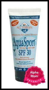 All Terrain Aquasport Sunscreen and other Best Sunscreens for Kids