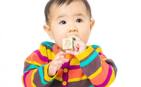 Baby Mouthing Shared Toys: what's the etiquette?