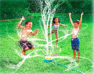 crazy sprinkler