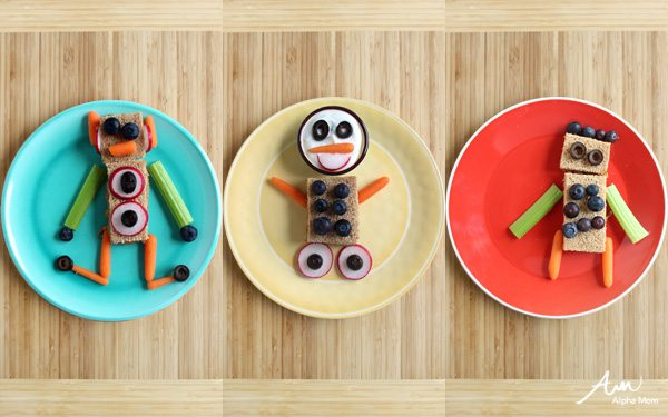 Do-It-Yourself Robot Snacks for Kids