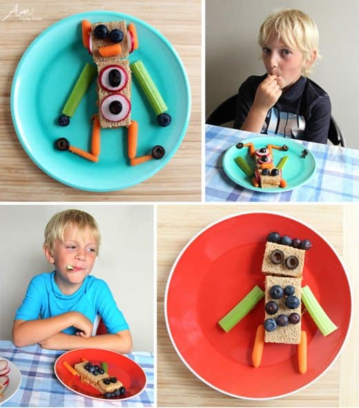 DIY Robot Snacks by Wendy Copley for Alphamom.com