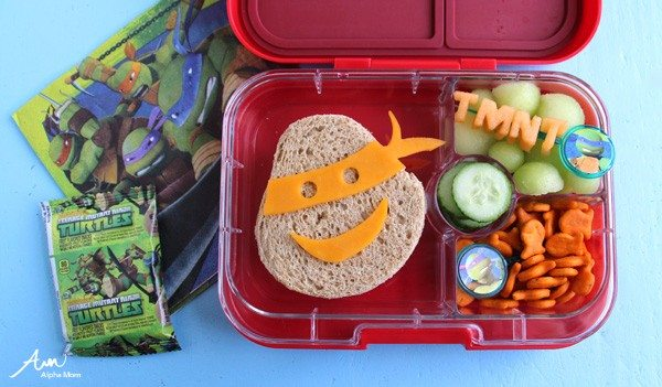 Teenage Mutant Ninja Turtles Bento Box Lunch