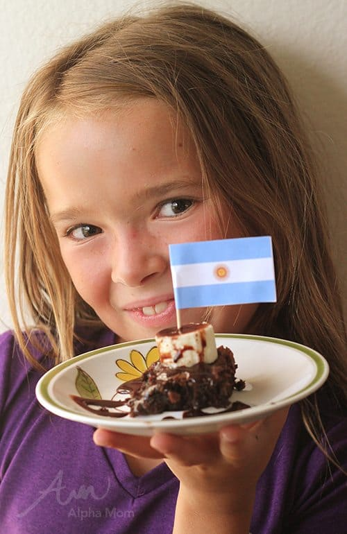 FIFA World Cup 2014 Printable Flags for Party Food