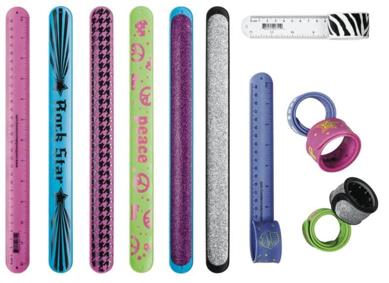 10 Hottest Back-To-School Items: Snap Bracelet Ruler