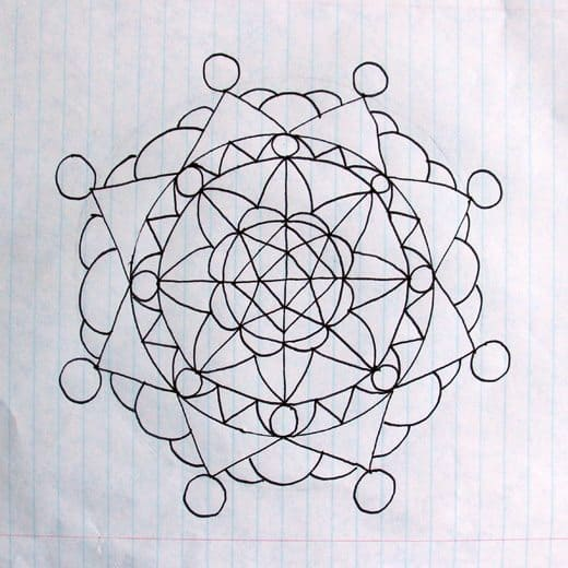 How to Draw Mandalas by Wendy Copley for Alphamom.com