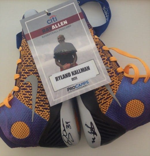 Ray Allen Citi ProCamp: ultimate basketball camp experience