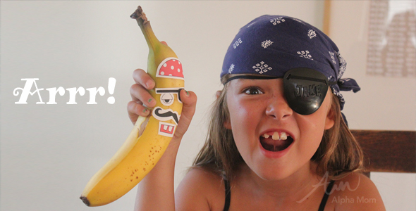 Talk Like A Pirate Day School Lunch Stickers!