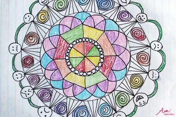 Doodled Mandalas