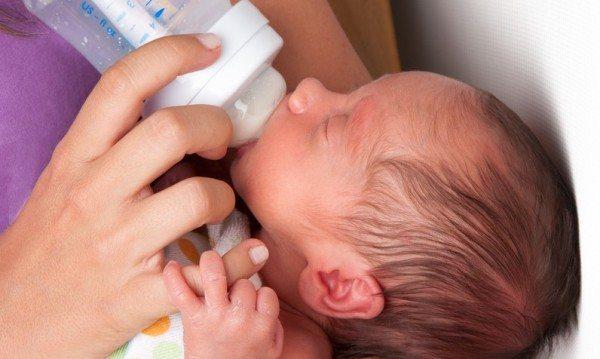 Formula Feeding From Birth
