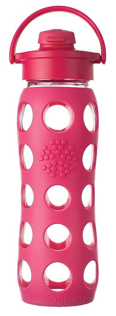 Best and Safest Reusable Water Bottles: Lifefactory Glass Reusable Water Bottle