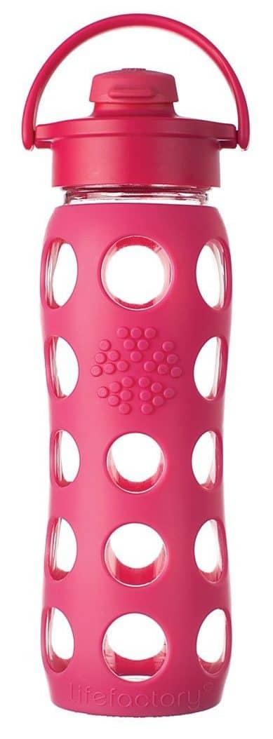 Best and Safest Reusable Water Bottles: Lifefactory Glass Reusable Water Bottle
