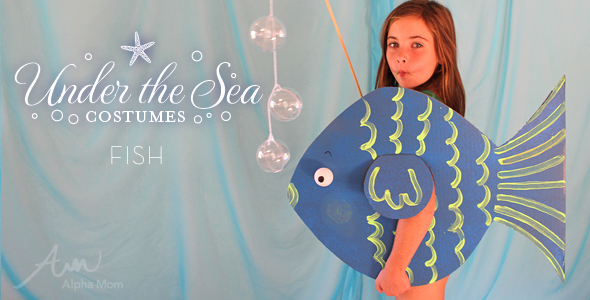 DIY Under-the-Sea Costumes: Fish!