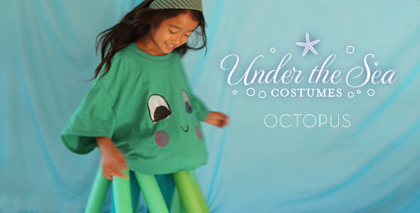 DIY Under-The-Sea Costumes: Octopus!