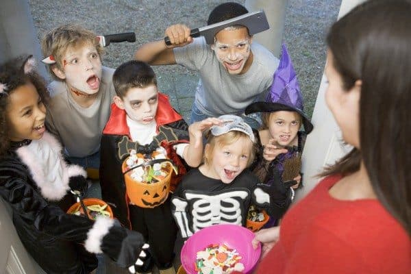halloween with the teens