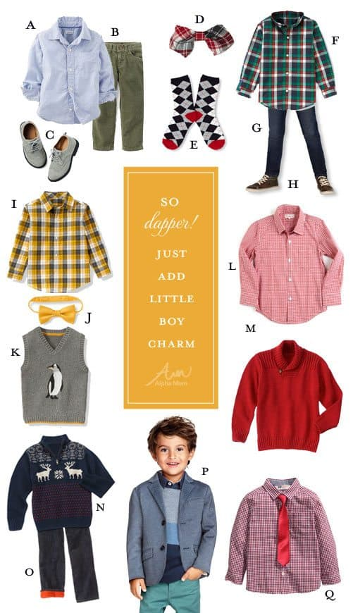 Holiday Party Outfits for Boys