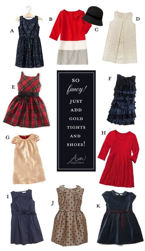 Holiday Party Dresses for Girls