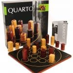 Quarto Strategy Game: From the same maker as Quoridor, this is also a strategy game. Albeit a bit easier, as it's recommended for ages 6+. Quarto is also their most popular game, and I can see why because it's fast and fun, but there are levels of strategy you can still employ.