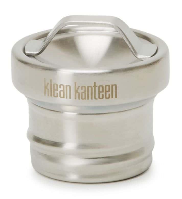Best and Safest Water Bottles: Klean Kanteen stainless steel loop cap