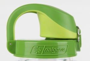 Best and Safest Reusable Water Bottles: Nalgene On The Fly in green