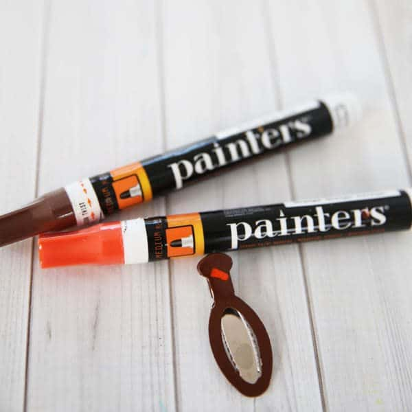 Painters paint pens for making turkey hairclips